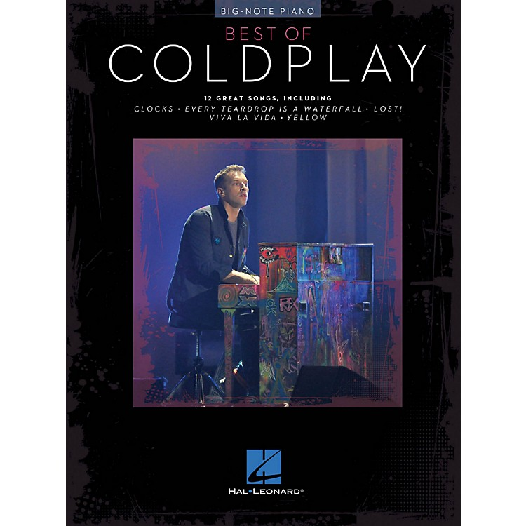 Hal LeonardBest Of Coldplay For Big-Note Piano