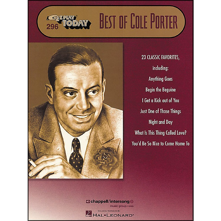 Hal Leonard Best Of Cole Porter E-Z Play 296