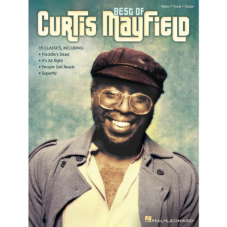 Hal LeonardBest Of Curtis Mayfield for Piano/Vocal/Guitar
