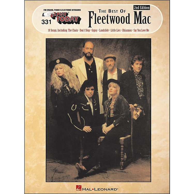 Hal Leonard Best Of Fleetwood Mac 2nd Edition E-Z Play 331