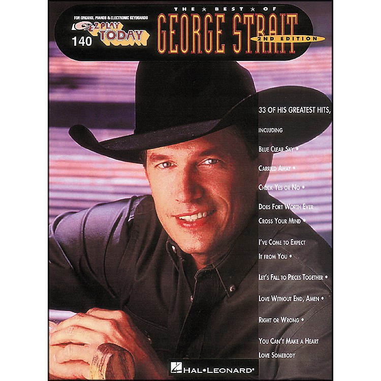 Hal LeonardBest Of George Strait 2nd Edition E-Z Play 140