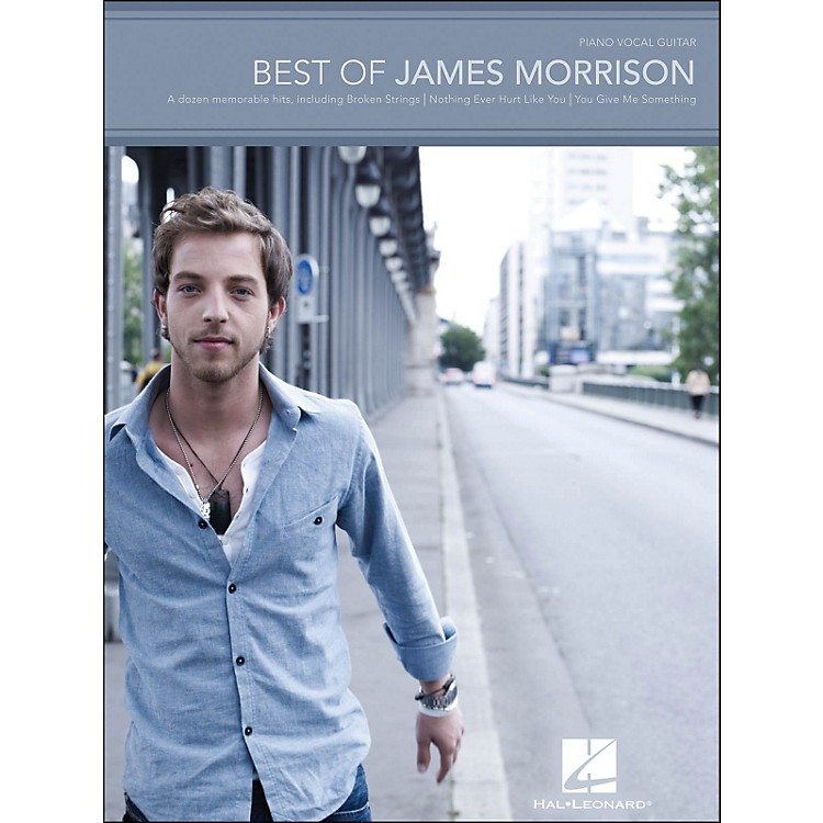 Hal Leonard Best Of James Morrison arranged for piano, vocal, and guitar (P/V/G)