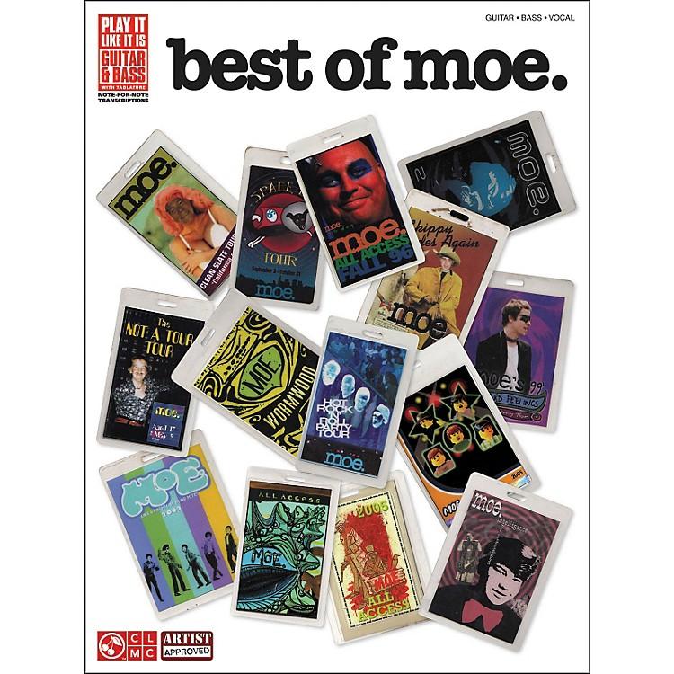 Cherry LaneBest Of Moe Tab Book