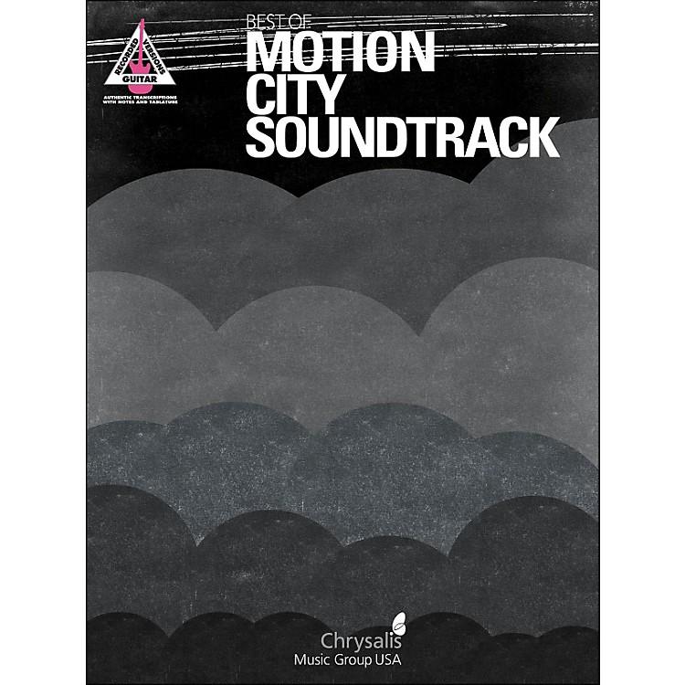 Hal LeonardBest Of Motion City Soundtrack Guitar Tab Songbook