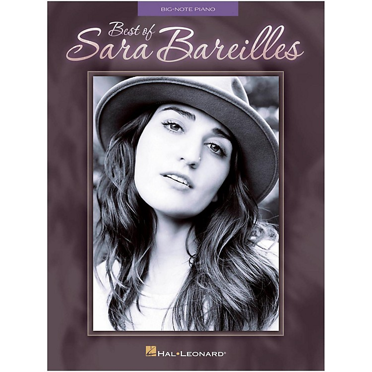 Hal Leonard Best Of Sara Bareilles for Big Note Piano