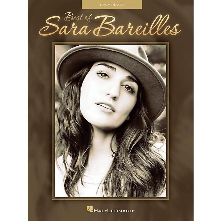 Hal LeonardBest Of Sara Bareilles for Easy Piano