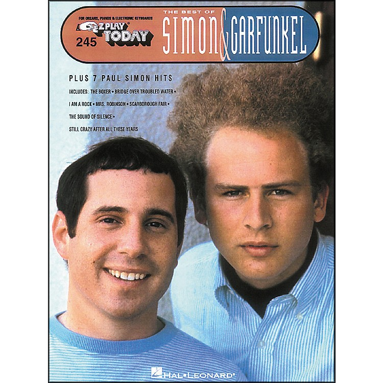 Hal Leonard Best Of Simon & Garfunkel E-Z Play 245