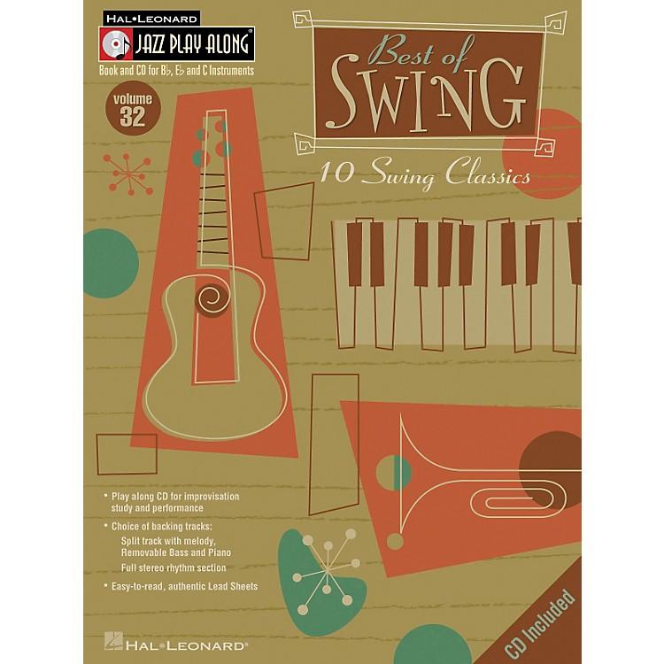 Hal LeonardBest Of Swing--Jazz Play Along Volume 32 Book with CD