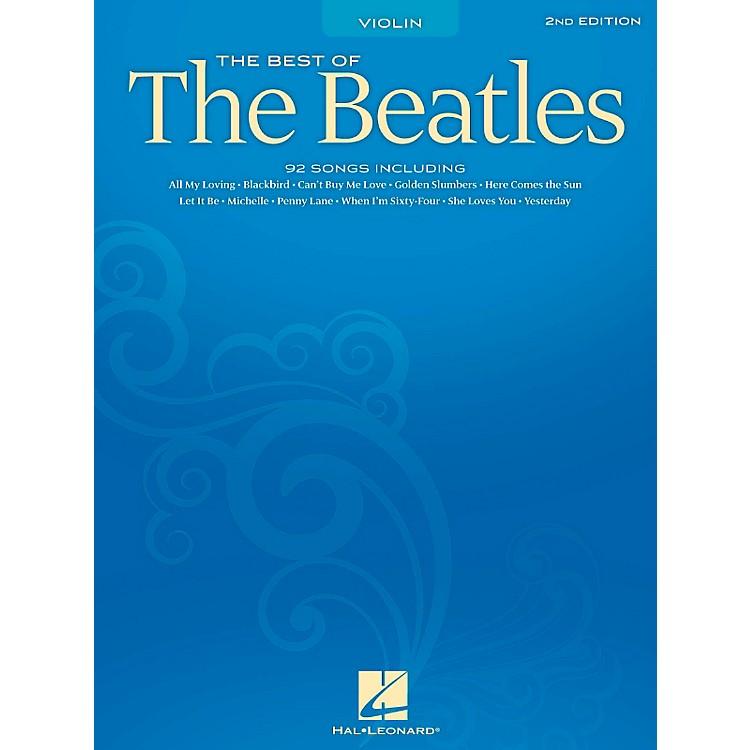 Hal LeonardBest Of The Beatles - 2nd Edition for Violin