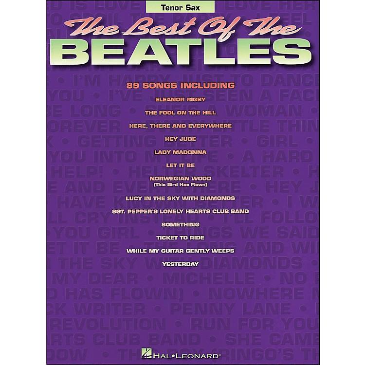 Hal LeonardBest Of The Beatles Tenor Sax