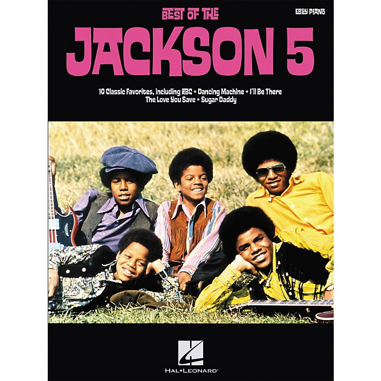Hal Leonard Best Of The Jackson 5 For Easy Piano