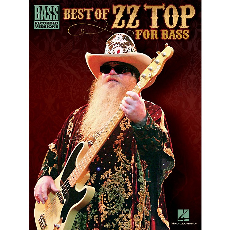 Hal Leonard Best Of ZZ Top For Bass