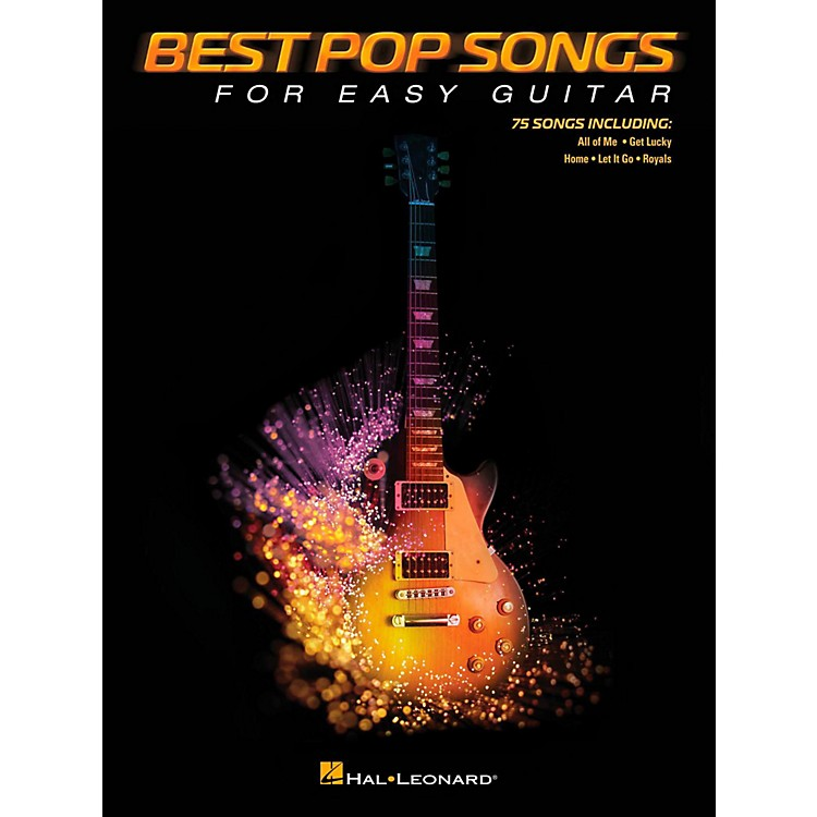 Hal Leonard Best Pop Songs For Easy Guitar (No Tab)