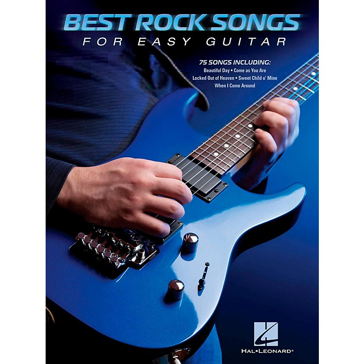 Hal LeonardBest Rock Songs For Easy Guitar (No Tab)