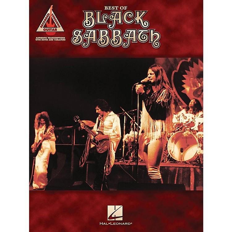 Hal LeonardBest of Black Sabbath Guitar Tab Songbook