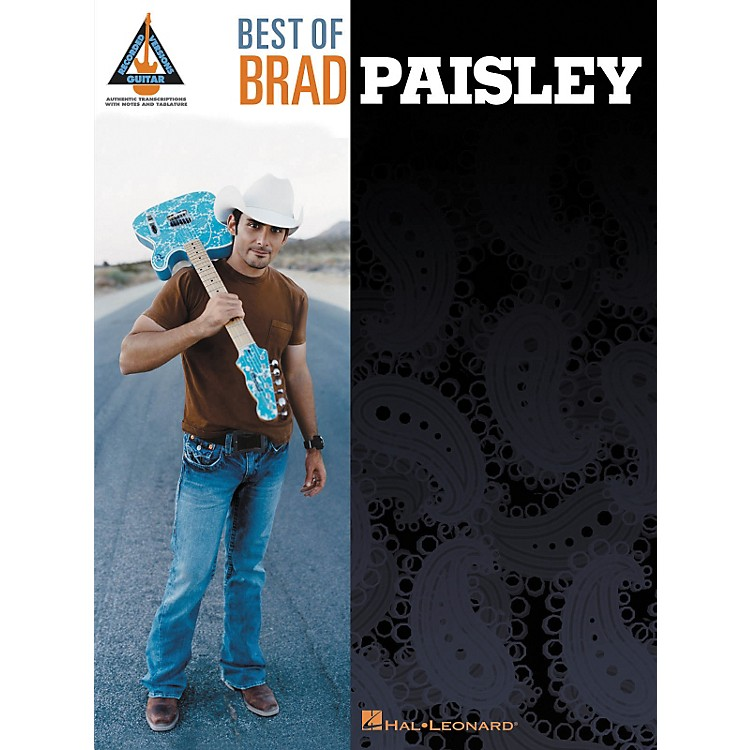 Hal LeonardBest of Brad Paisley Guitar Tab Songbook