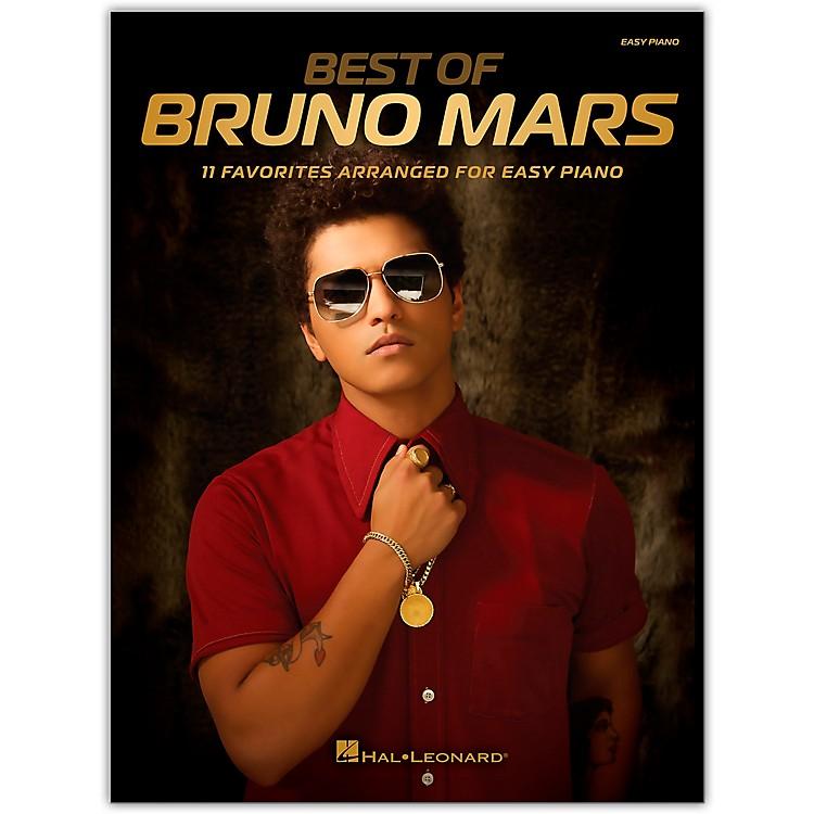 Hal LeonardBest of Bruno Mars for Easy Piano