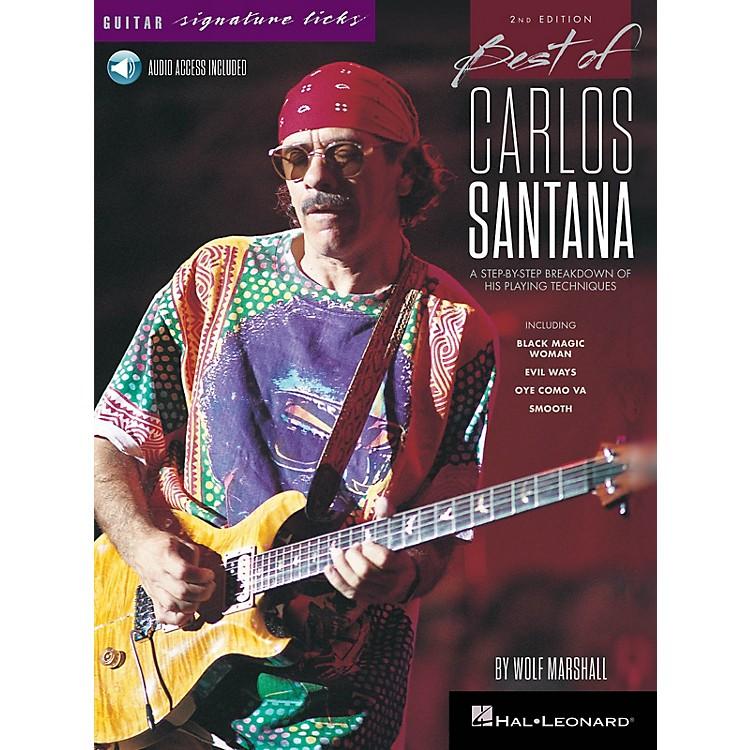Hal LeonardBest of Carlos Santana - Signature Licks - 2nd Edition BK/Audio Online by Wolf Marshall