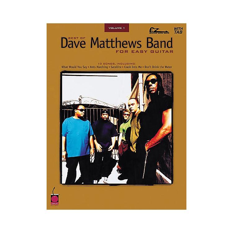 Cherry LaneBest of Dave Matthews Band for Easy Guitar Volume 1