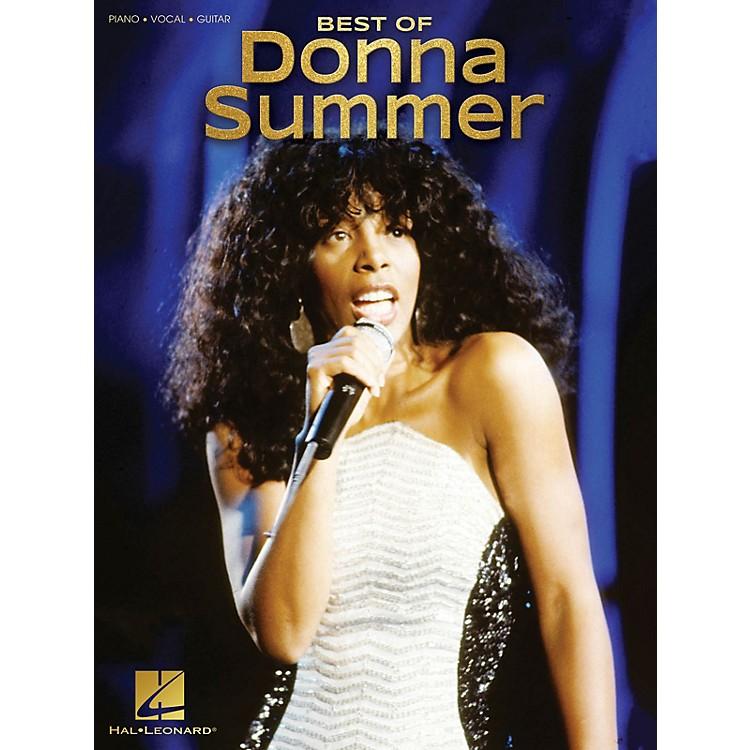 Hal LeonardBest of Donna Summer Piano/Vocal/Guitar Songbook