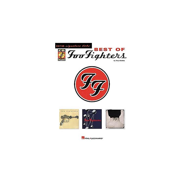 Hal LeonardBest of Foo Fighters Signature Licks Book with CD