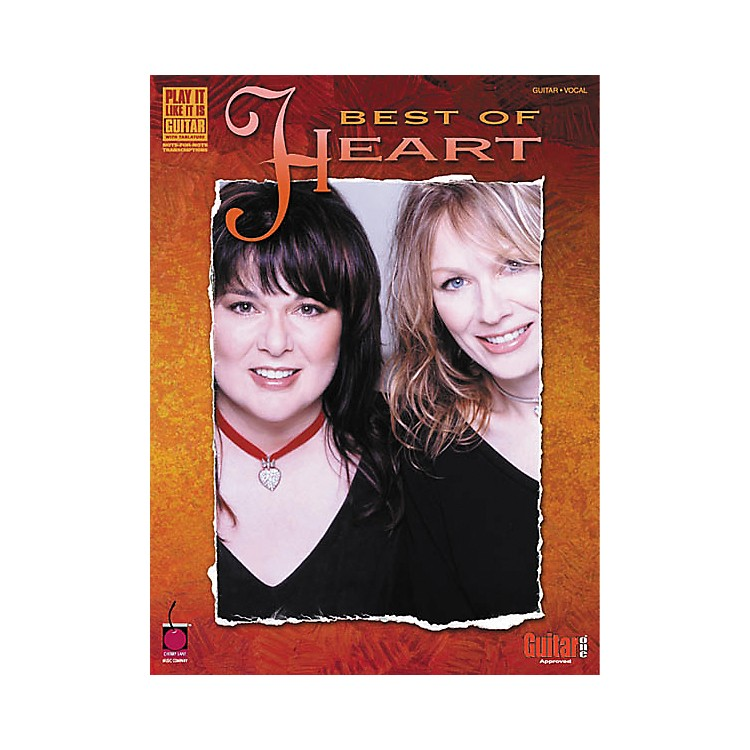 Cherry LaneBest of Heart Guitar Tab Songbook