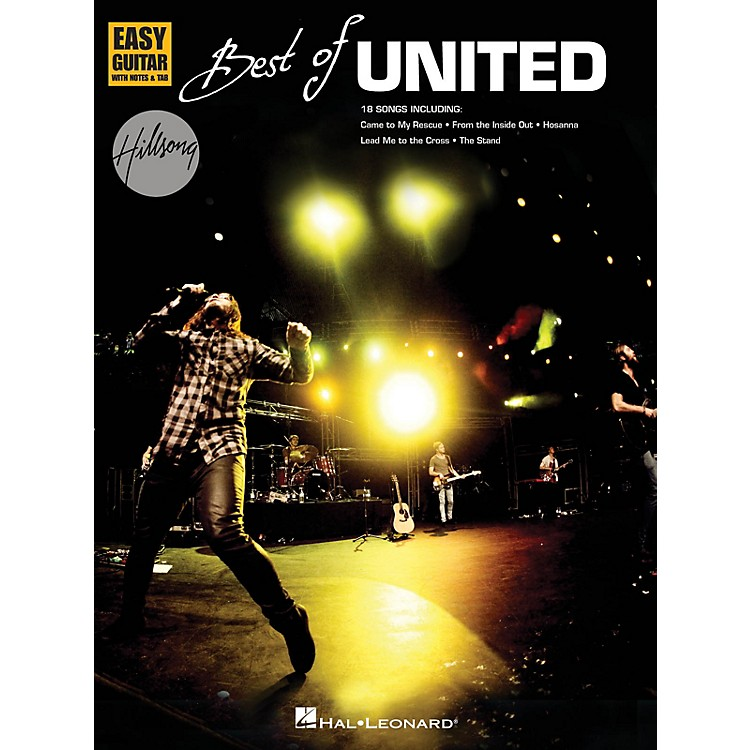 Hal LeonardBest of Hillsong United (Easy Guitar) Easy Guitar Series Softcover Performed by Hillsong United