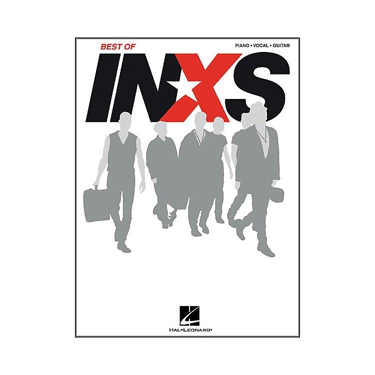 Hal LeonardBest of INXS Piano/Vocal/Guitar Artist Songbook
