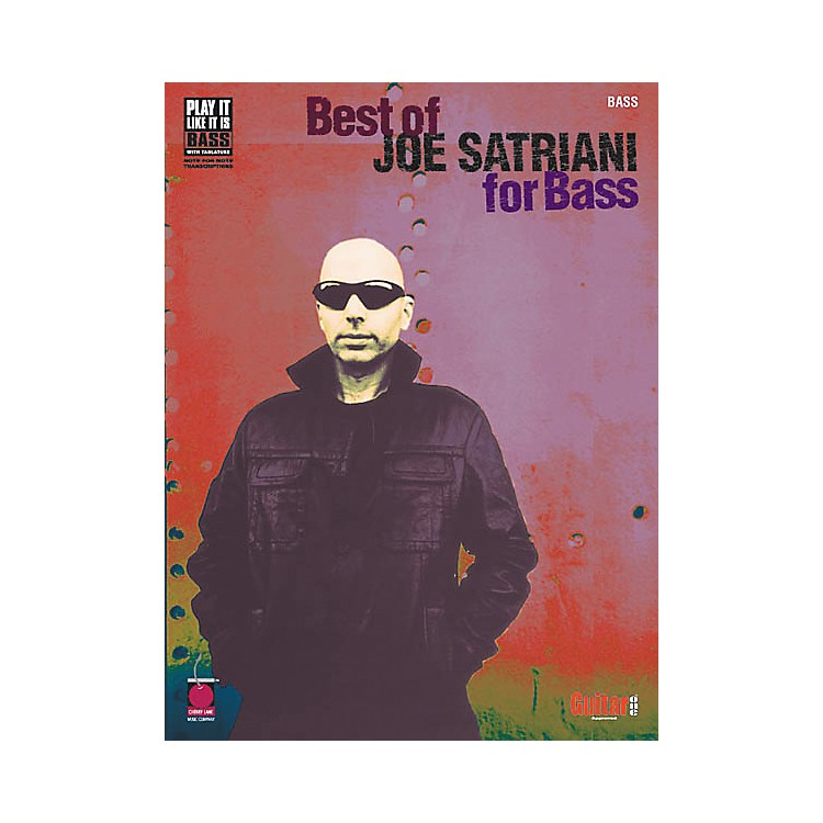 Cherry LaneBest of Joe Satriani for Bass Guitar Tab Songbook