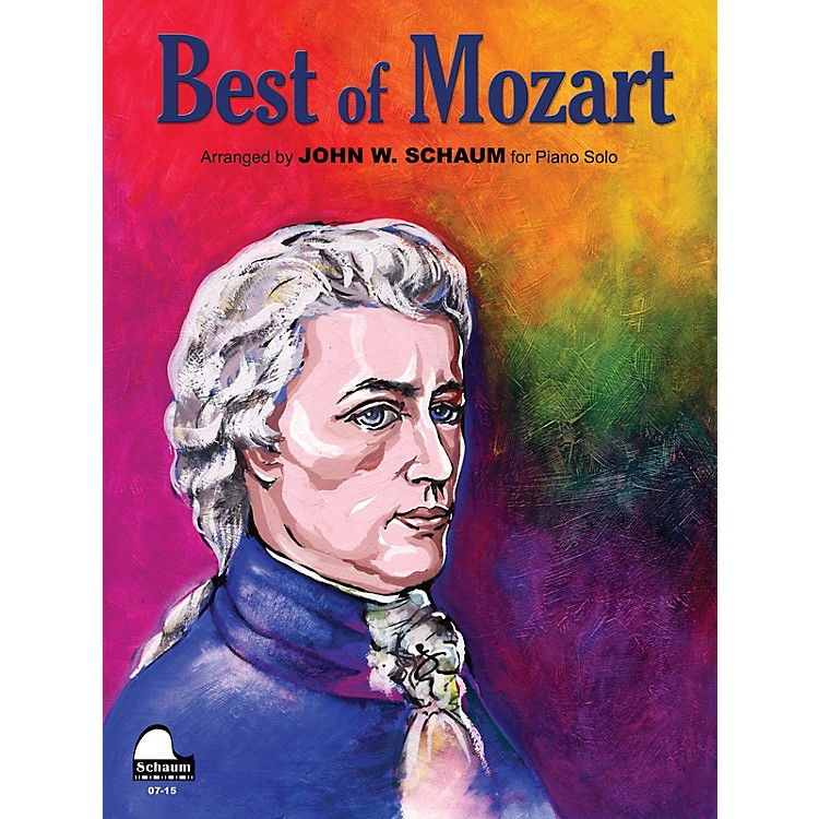 SCHAUMBest of Mozart Educational Piano Series Softcover