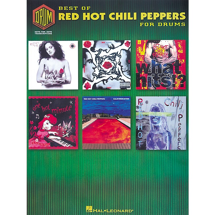 Hal LeonardBest of Red Hot Chili Peppers for Drums Book