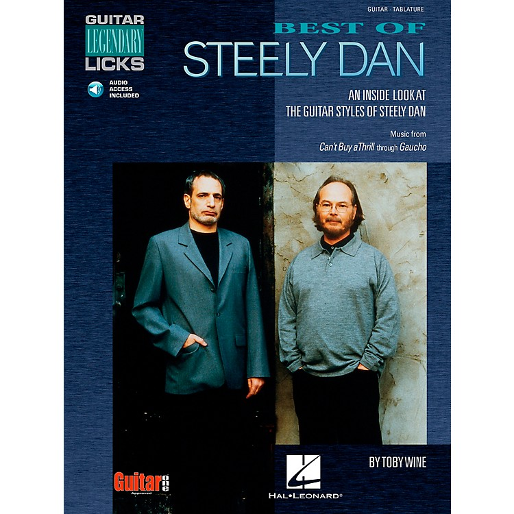 Cherry Lane Best of Steely Dan Guitar Signature Licks Book with CD