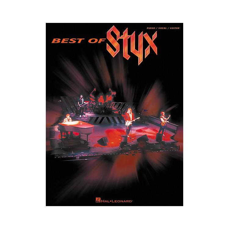 Hal LeonardBest of Styx Piano, Vocal, Guitar Songbook