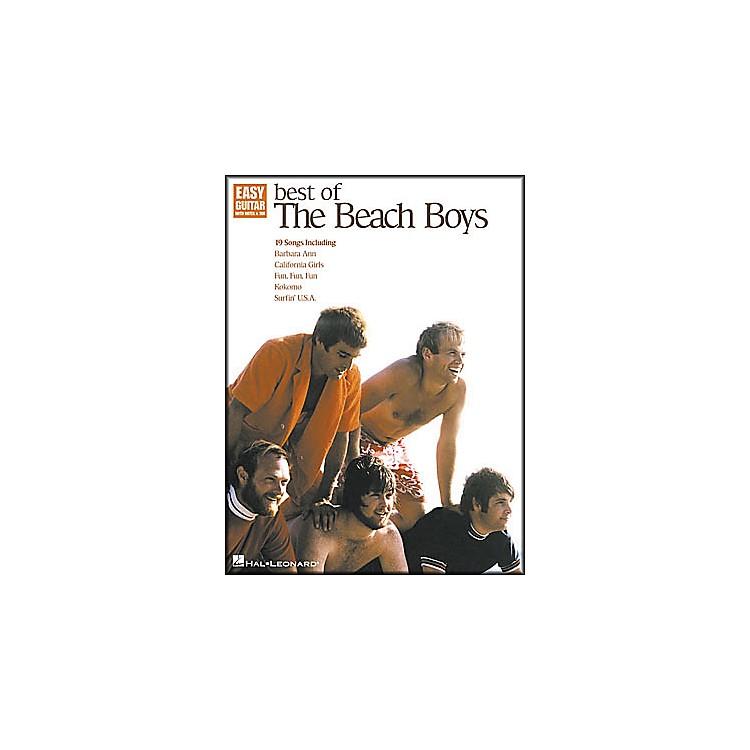 Hal LeonardBest of The Beach Boys Easy Guitar Book