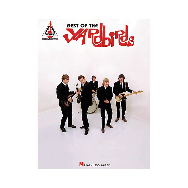 Hal LeonardBest of The Yardbirds Guitar Tab Songbook