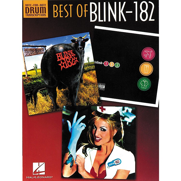 Hal Leonard Best of blink-182 Book
