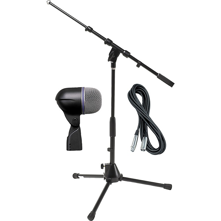 ShureBeta 52A Kick Mic with Cable and Stand