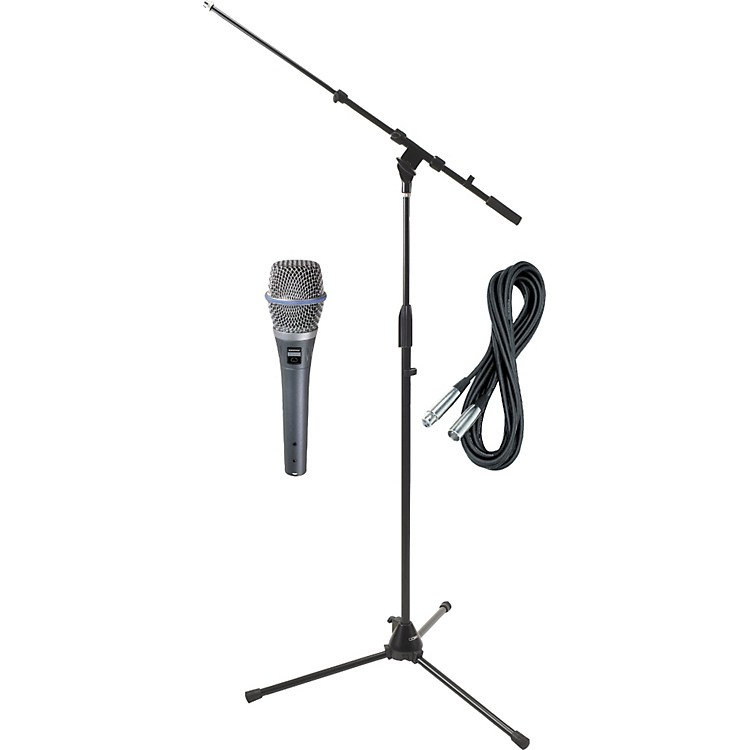 ShureBeta 87C HH Condenser Mic with Cable and Stand