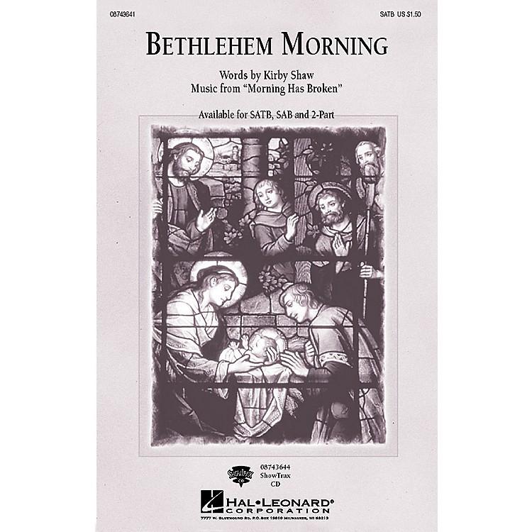 Hal LeonardBethlehem Morning SATB composed by Kirby Shaw