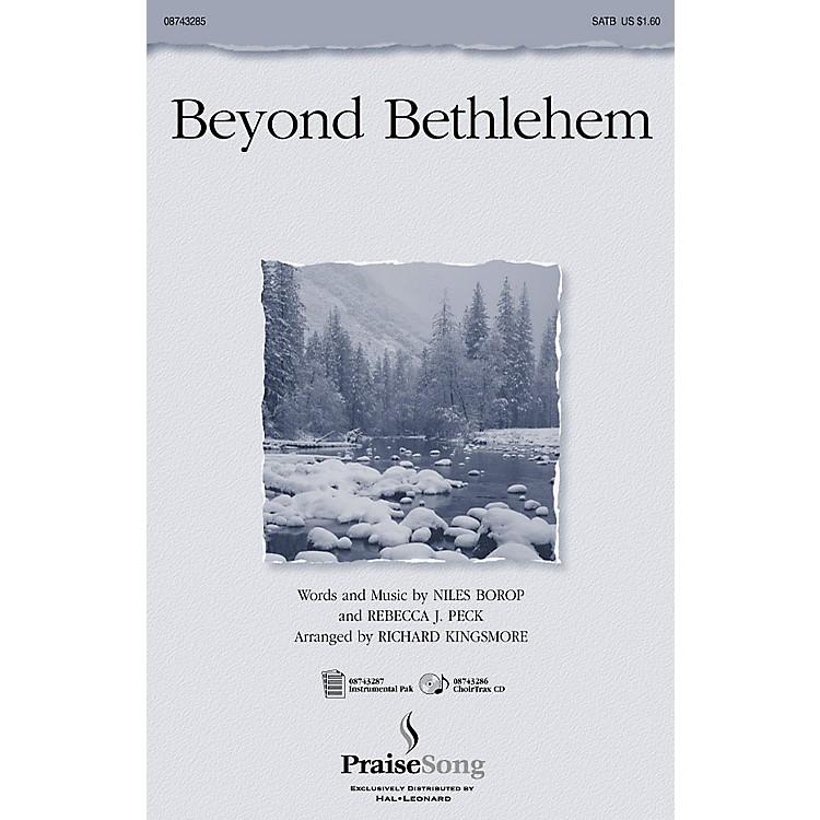 PraiseSongBeyond Bethlehem (Instrumental Pak) IPAKO Arranged by Richard Kingsmore