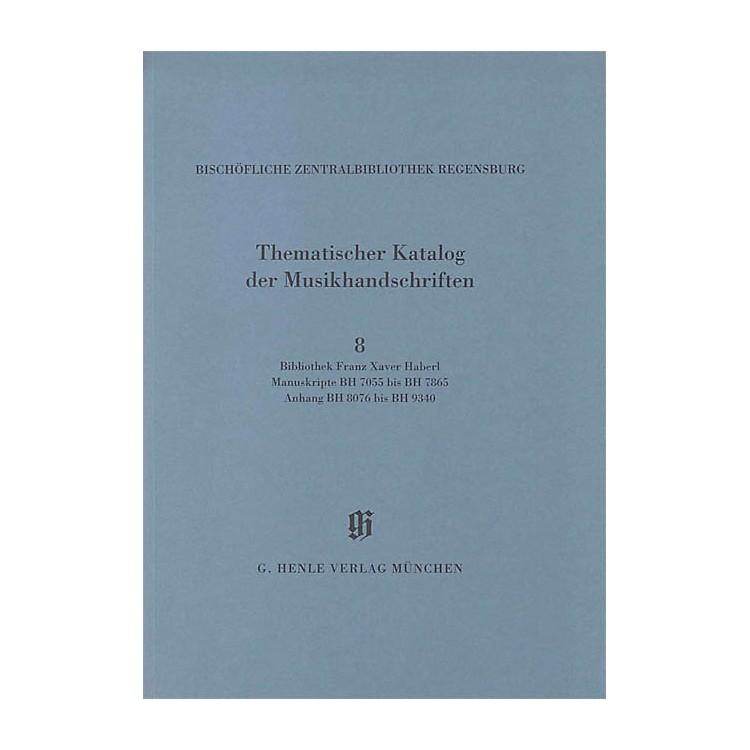 G. Henle VerlagBibliothek Franz Xaver Haberl Henle Books Series Softcover