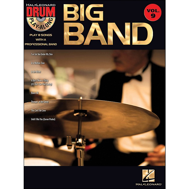 Hal LeonardBig Band - Drum Play-Along Volume 9 Book/CD