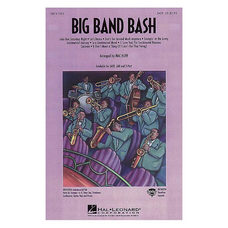 Hal LeonardBig Band Bash (Medley) SATB arranged by Mac Huff