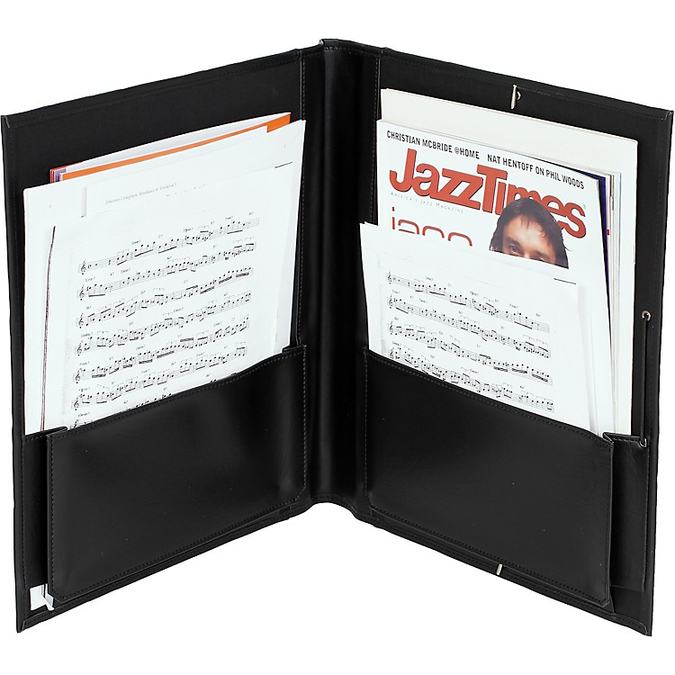 Protec Big Band Music Folder Black