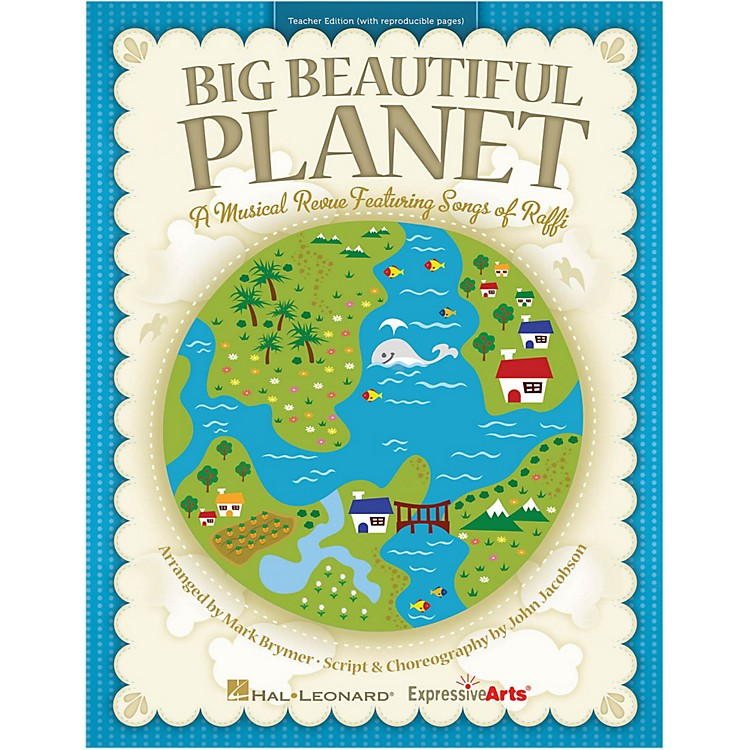 Hal Leonard Big Beautiful Planet Performance/Accompaniment CD