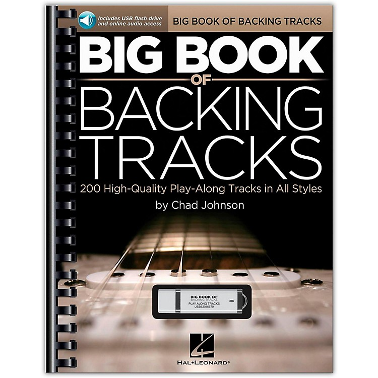 Hal LeonardBig Book Of Backing Tracks - 200 High-Quality Play-Along Tracks in All Styles (Book/USB)