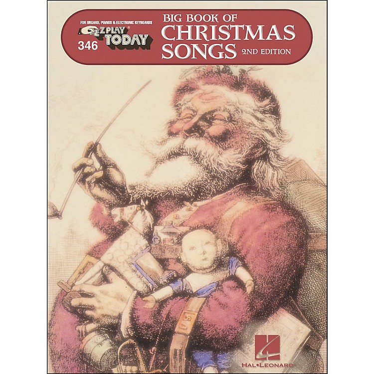 Hal Leonard Big Book Of Christmas Songs E-Z Play 346