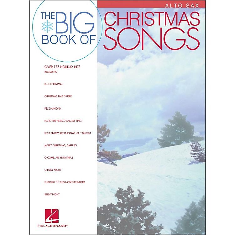 Hal LeonardBig Book Of Christmas Songs for Alto Sax