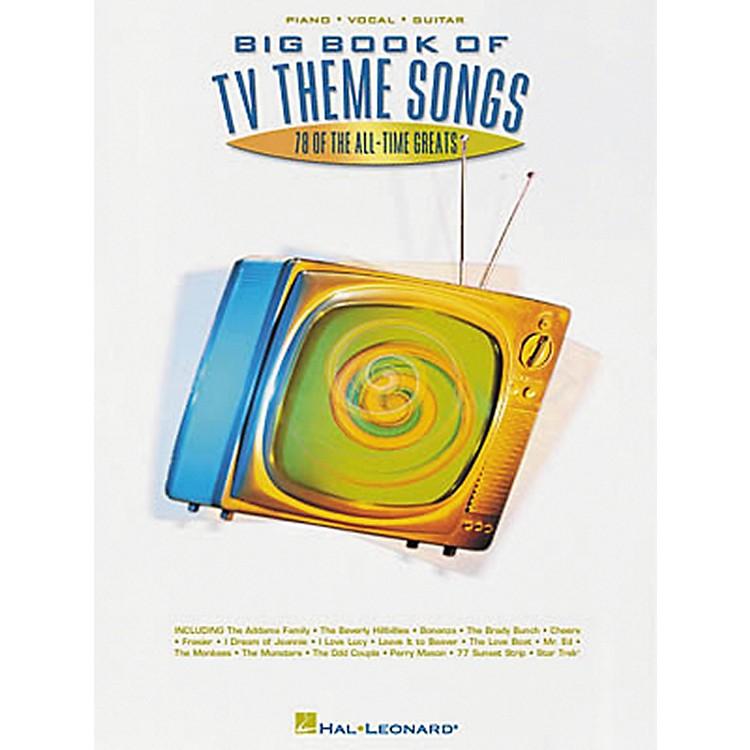 Hal LeonardBig Book of TV Theme Songs Piano, Vocal, Guitar Songbook