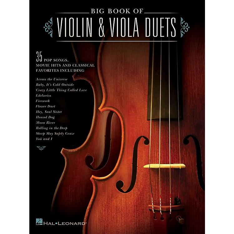 Hal LeonardBig Book of Violin & Viola Duets String Duet Series Softcover